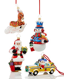 Christopher Radko 2018 Macy's Exclusive Ornaments