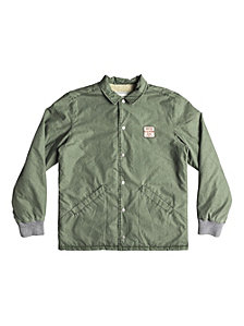 Quiksilver Men's Kaimon Sherpa Lined Coaches Jacket