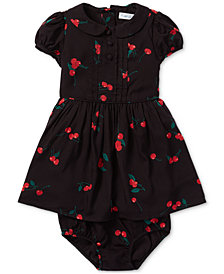 Polo Ralph Lauren Baby Girls Printed Fit & Flare Dress
