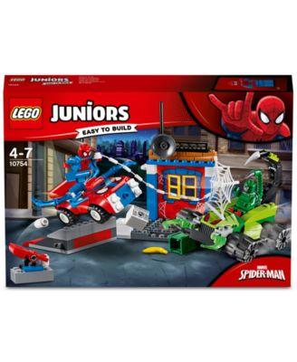 LEGO Juniors Spider-Man vs Scorpion Street Building Set 10754 NEW NIB