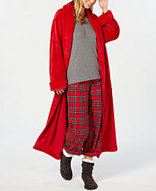 Charter Club Wrap Robe, Pajama Set & Chenille Slipper Socks, Created for Macy's