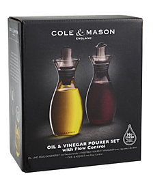 Cole & Mason Flow-Select Oil & Vinegar Pourers