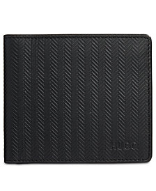 Hugo Boss Men's Subway Textured Leather Wallet