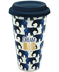 CLOSEOUT! TMD Holdings Elephants Dream Big Travel Mug