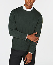 Club Room Men's Ribbed Sweater, Created for Macy's