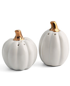 Thirstystone Pumpkin Salt & Pepper Shakers