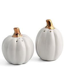 Thirstystone Pumpkin Salt & Pepper Shakers