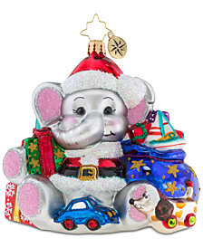 Christopher Radko Trunk Full Of Presents Ornament
