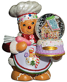 Christopher Radko Ginger Cakes Snowglobe