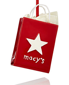 Macy's Collectible Shopping Bag Ornament, Created for Macy's