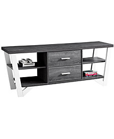 """TV Stand 60"""" With 2 Storage Drawers"""