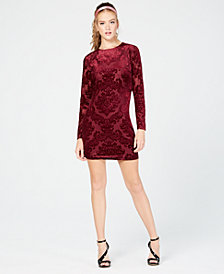 B Darlin Juniors' Velvet Bodycon Dress