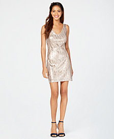 Jump Juniors' Sequined Tank Dress