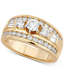 Diamond Engagement Ring (1-1/3 ct t.w.) in 14k Gold