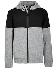 Ideology Toddler Boys Colorblocked Zip-Up Hoodie, Created for Macys