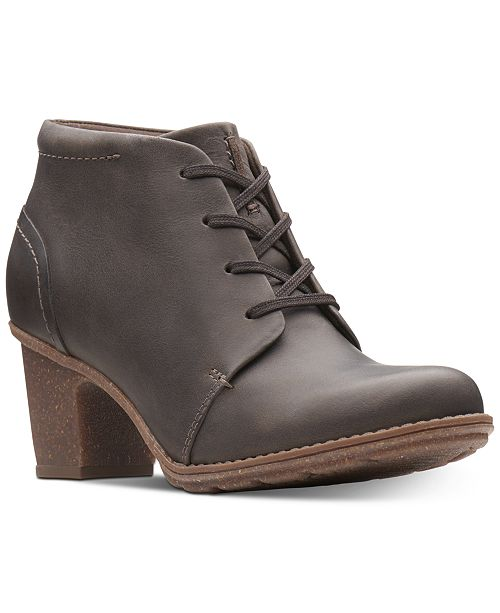 f17675917b9 Clarks Collection Women s Sashlin Sue Booties   Reviews - Boots ...