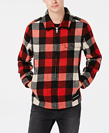 Calvin Klein Jeans Men's Mackinaw Harrington Plaid Jacket