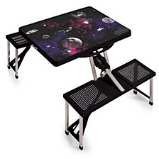 Picnic Time Death Star - Picnic Table Sport Portable Folding Table with Seats
