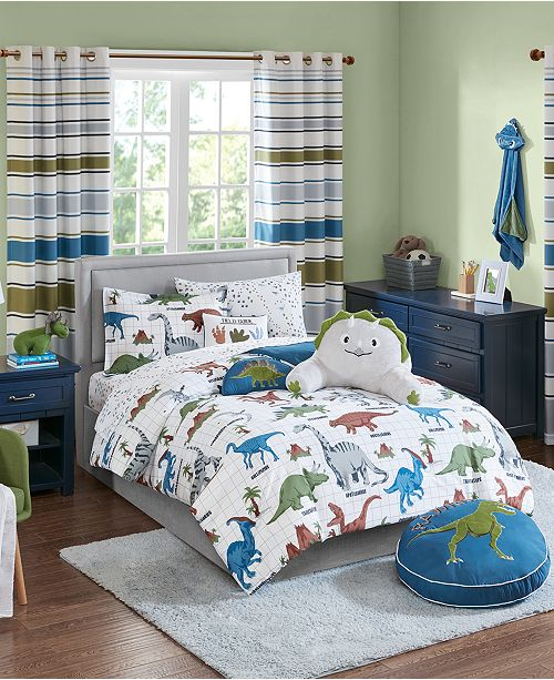 JLA Home Dusty The Dino Bedding Collection