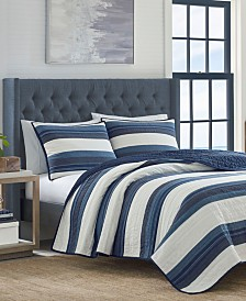 Nautica Briars Cotton 136-Thread Count Reversible Quilt & Sham Collection