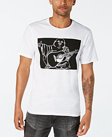 True Religion Men's Buddha Move Logo Graphic T-Shirt