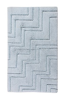 Zig Zag 20x30 Cotton Bath Rug