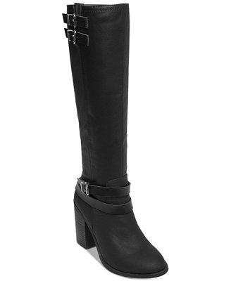 Edrea Block Heel Boots by Madden Girl