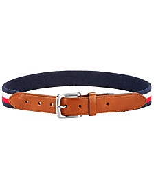 Tommy Hilfiger Big Boys Striped Belt