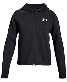 Under Armour Big Girls Finale Zip-Up Hooded Jacket