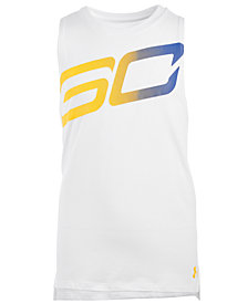 Under Armour Big Girls SC30-Print Sleeveless T-Shirt