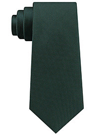 Club Room Men's Micro Dot Solid Silk Tie, Created for Macy's