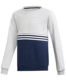 adidas Originals Big Boys Colorblocked Sweatshirt