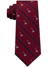 Club Room Men's Pheasant Stripe Silk Tie, Created for Macy's
