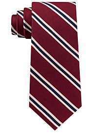 Club Room Men's Club Stripe Silk Tie, Created for Macy's