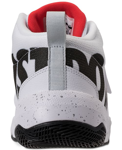 5cbb53be36f4 ... Nike Boys rsquo  Team Hustle D8 Just Do It Basketball Sneakers from Finish  Line ...