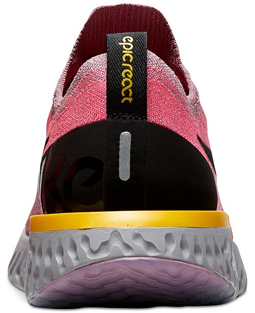 6c86af871f5b3 ... Nike Women s Epic React Flyknit Running Sneakers from Finish Line ...