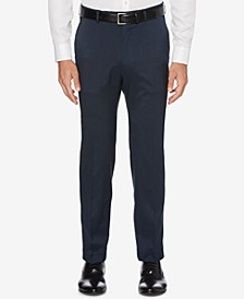 CLOSEOUT! Men's Portfolio Classic-Fit Stretch Crosshatch Dress Pants