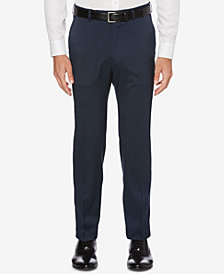 Perry Ellis Men's Portfolio Classic-Fit Stretch Crosshatch Dress Pants