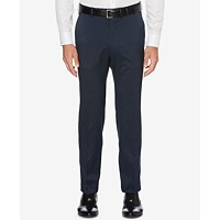 Deals on Perry Ellis Mens Portfolio Classic-Fit Stretch Crosshatch Dress Pants