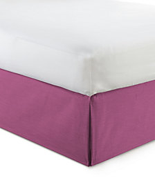 "Cambric Berry Bedskirt 18"" Drop California King"