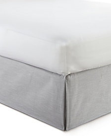 "Cambric Gray Bedskirt 15""-Full"