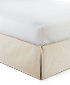 "Cambric Vanilla Bedskirt 15""-King"