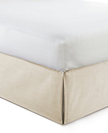 "Cambric Vanilla Bedskirt 15"" Drop Twin/Twin-XL"