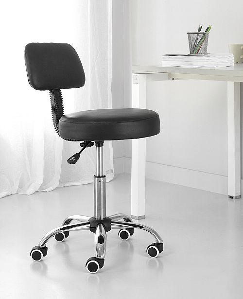 Idea Nuova Urban Living High Back Rolling Office Chair