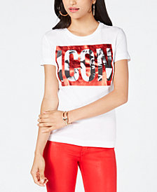 GUESS Cotton Icon Graphic T-Shirt