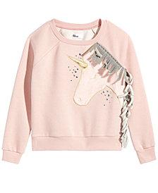 Epic Threads Big Girls Unicorn Sweatshirt, Created for Macy's