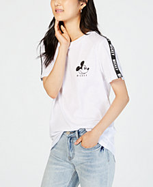 Love Tribe Juniors' Mickey Mouse Graphic-Print T-Shirt