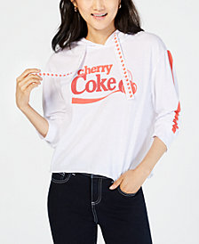 Love Tribe Juniors' Cherry-Coke-Graphic Hoodie