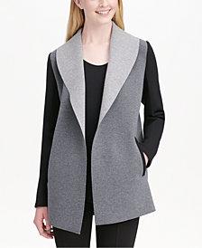 Calvin Klein Open-Front Vest