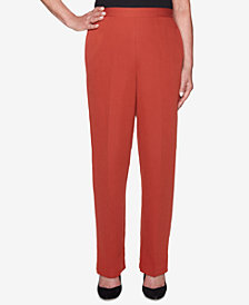 Alfred Dunner Petite Relaxed-Fit Pants